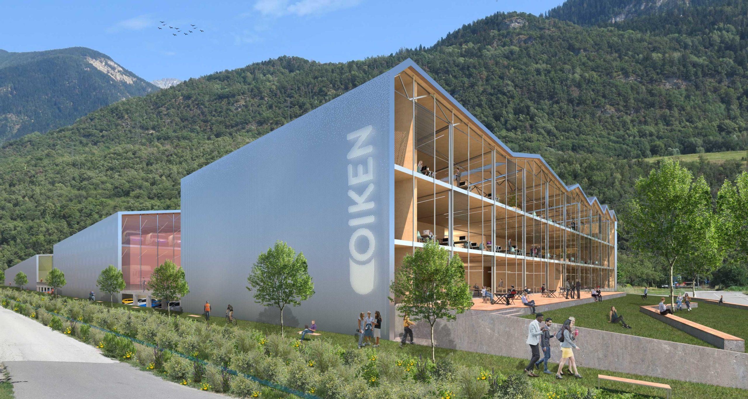 concours- d'architecture pour le nouveau centre technique et logistique - Oiken - image